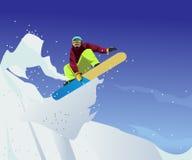 Jazda na łyżwach sporta ilustracja z wektoru stylem ilustracji