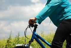 jazda na rowerze Zdjęcia Royalty Free
