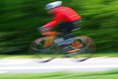 jazda na rowerze Fotografia Royalty Free
