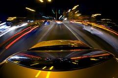 jazda w centrum Fotografia Stock