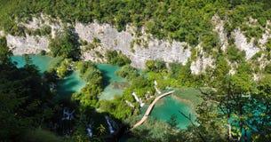 Jazera di Plitvicke Immagine Stock