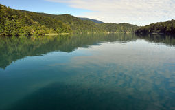 jazera plitvicke Στοκ Εικόνες