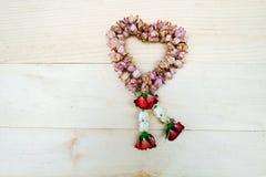 Jazmín y Rose Flower Wreath Thai secos Fotografía de archivo libre de regalías