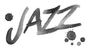 jazz royaltyfri illustrationer