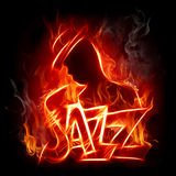 Jazz vector illustratie
