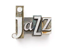jazz Fotografia Stock