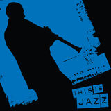 This is jazz vector illustration
