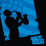 This is jazz royalty free illustration