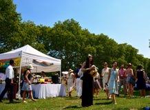 Jazz Age Lawn Party New York Imágenes de archivo libres de regalías
