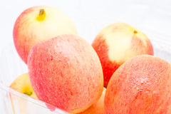 Jazz Apple σε ένα άσπρο υπόβαθρο Στοκ Εικόνες