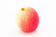 Jazz Apple på en vit bakgrund Fotografering för Bildbyråer