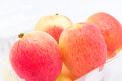 Jazz Apple on a white background Stock Photography
