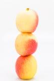 Jazz Apple on a white background Stock Image