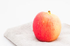 Jazz Apple on a white background Royalty Free Stock Images