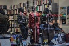 Jazz & böcker Royaltyfria Foton