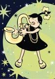 Jazz Baby Royalty Free Stock Photo