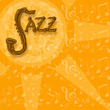 Jazz background Royalty Free Stock Photo