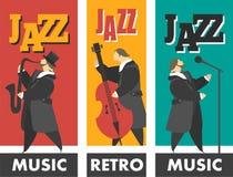 Jazz-band Image libre de droits