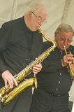 Jazz Band at Thornton Le Dale. Royalty Free Stock Photo