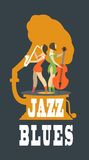 Jazz and blues Royalty Free Stock Photography