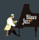 Jazz and blues Stock Photography