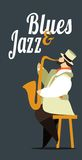 Jazz and blues Stock Images