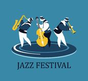 Jazz and Blues Festival Stock Photo