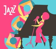 Jazz and blues Royalty Free Stock Image