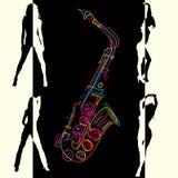 Jazz card Royalty Free Stock Photo