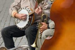 Jazz da rua imagens de stock royalty free