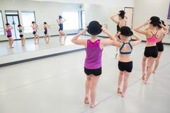 Jazz Dance Class Royalty Free Stock Image