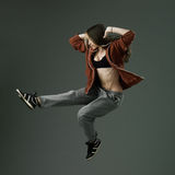 Jazz dance Royalty Free Stock Images