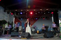Jazz Dance Orchestra performs at Usadba Jazz Festival Stock Photos