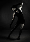 Jazz dancer Stock Images