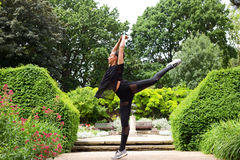 Jazz dancer Royalty Free Stock Image