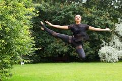 Jazz dancer Stock Photography
