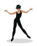 Jazz Dancer Tap Dance, Jitterbug, Swing, Lindy Hop Royalty Free Stock Image