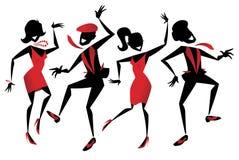 Jazz Dancers Lizenzfreie Stockfotos
