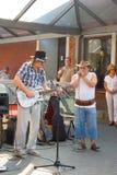 Jazz in de straten Royalty-vrije Stock Foto's