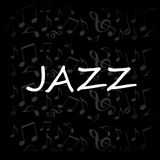 Jazz design Stock Image