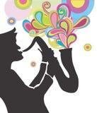 Jazz di Colorfull royalty illustrazione gratis
