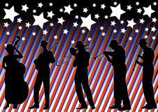 Jazz di festa illustrazione di stock