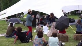 Jazz di Usadba stock footage