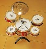 Jazz Drum Kit Royaltyfria Foton