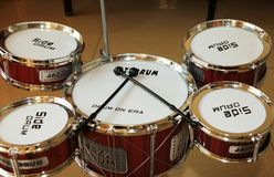 Jazz Drum kit Royalty Free Stock Photo