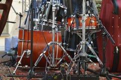 Jazz Drums Arkivfoto