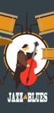 Jazz e azuis Imagem de Stock