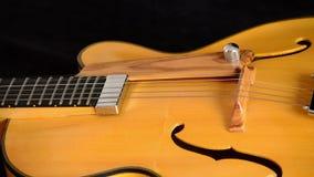 Jazz Electric Guitar Rotating almacen de metraje de vídeo