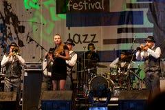 jazz för bandbroderdixie Arkivbilder