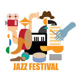 Jazz festival. Royalty Free Stock Photo